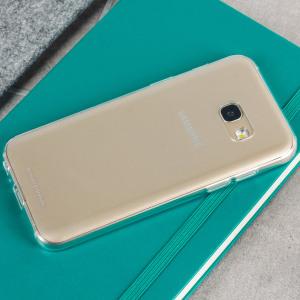 La coque officielle Clear Cover est une protection parfaite pour votre Samsung Galaxy A3 2017, elle préserve les lignes sophistiquées de votre smartphone et lui offre un style encore plus élégant. Il s'agit d'une protection officielle, soyez assuré d'un ajustement parfait et d'une qualité de conception supérieure.