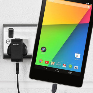 Charge your Google Nexus 7 2013 quickly and conveniently with this compatible 2.5A high power charging kit. Featuring mains adapter and USB cable.