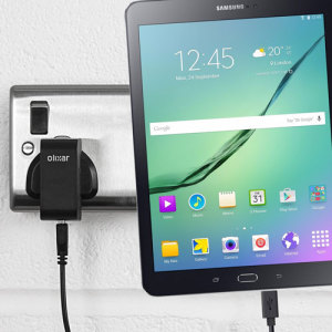 Charge your Samsung Galaxy Tab S2 9.7 / 8 quickly and conveniently with this compatible 2.5A high power charging kit. Featuring mains adapter and USB cable.