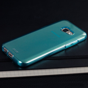 Coque Samsung Galaxy A3 2017 FlexiShield en gel – Bleue