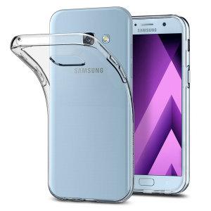 Proteggi con stile il tuo Samsung Galaxy A3 2017 con questa custodia Ultra Thin di Olixar, dal design sottile e trasparente.