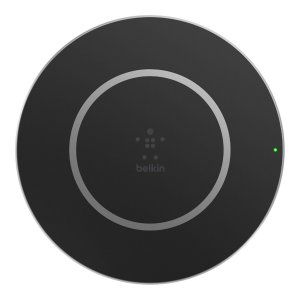 Wirelessly charge your wireless charging compatible devices at faster than ever speeds using this official Belkin 15W Wireless Charging Pad. Now at last, true fast charging is possible via wireless methods.