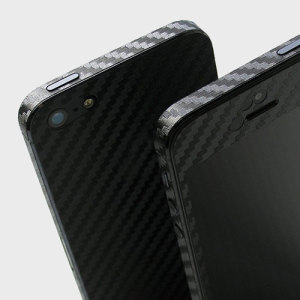 Enhance your iPhone SE / 5S / 5's smooth, sleek appearance with this premium carbon fibre-style 3D textured skin from Easyskinz. Crafted from the world's finest materials and featuring precision tangential cutting for a perfect fit.