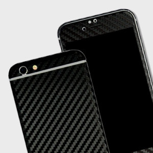 Enhance your iPhone 6S Plus / 6 Plus's smooth, sleek appearance with this premium carbon fibre-style 3D textured skin from Easyskinz. Crafted from the world's finest materials and featuring precision tangential cutting for a perfect fit.