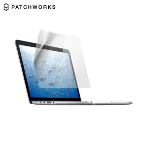 Shield your treasured MacBook Pro Retina 15 screen  from fingerprints, dust and superficial damage with this extra clear screen protector from Patchworks.