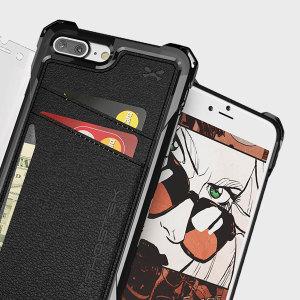 La Ghostek Exec incluye además un protector de pantalla de cristal templado para proporcionar una protección completa a su iPhone 7 Plus. Sus ranuras para almacenar tarjetas también hacen que su función de cartera complemente el accesorio a la perfección.