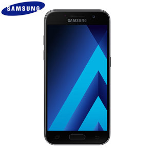 Unlocked 16GB Samsung Galaxy A3 2017 in black. With a 4.7 inch display featuring a 720 x 1280 resolution, 13MP camera and running Android - this Samsung smartphone is ready for anything you can throw at it!
