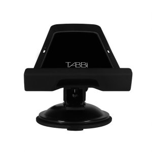 This universal tablet and smartphone holder will secure your device to almost any surface.  With complete 360 degree movement and adjustable arm, you can fully adjust the tablet, to find your perfect viewing angle.