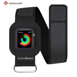 Conecte su Apple Watch 42mm a su brazo con el brazalete ActionSleeve de Twelve South. Tener su reloj en la muñeca no siempre es la posición perfecta para los deportes, con el ActionSleeve, usted será capaz de mantener su reloj protegido y fácil de alcanzar.