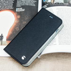The Malmo Folio Cover from Krusell in black is beautifully crafted in a textured material with a slim look which offers fantastic all round protection for the Samsung Galaxy A3 2017. This is a classic option for work or the weekend.
