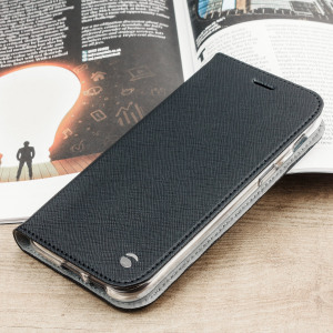 The Malmo Folio Cover from Krusell in black is beautifully crafted in a textured material with a slim look which offers fantastic all round protection for the Samsung Galaxy A5 2017. This is a classic option for work or the weekend.