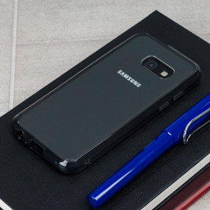 Protect the back and sides of your Samsung Galaxy A3 2017 with this incredibly durable, smoke black and crystal clear backed Fusion Case by Ringke. The clear design perfectly highlights the A3's stunning design whilst keeping it protected.