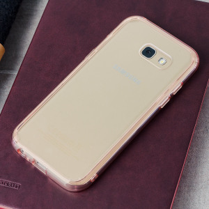 Protect the back and sides of your Samsung Galaxy A5 2017 with this incredibly durable, rose gold and crystal clear backed Fusion Case by Ringke. The clear design perfectly highlights the A5's stunning design whilst keeping it protected.