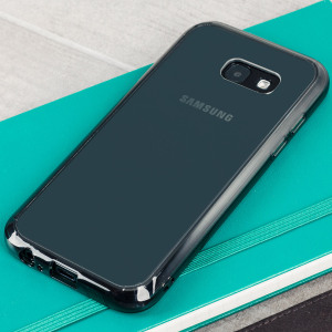Protect the back and sides of your Samsung Galaxy A5 2017 with this incredibly durable, smoke black, crystal clear backed Fusion Case by Ringke. The clear design perfectly highlights the A5's stunning design whilst keeping it protected.