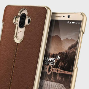 Protect your Huawei Mate 9 with this precisely designed case in brown from VRS Design. Combining leather-style material with polycarbonate, this slim case is certain to add to the style of your device.