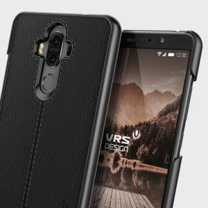 Protect your Huawei Mate 9 with this precisely designed case in black from VRS Design. Combining leather-style material with polycarbonate, this slim case is certain to add to the style of your device.