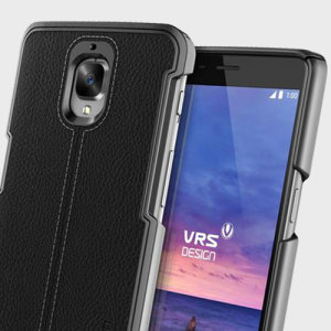 Protect your OnePlus 3T / 3 with this precisely designed case in black from VRS Design. Combining leather-style material with polycarbonate, this slim case is certain to add to the style of your device.