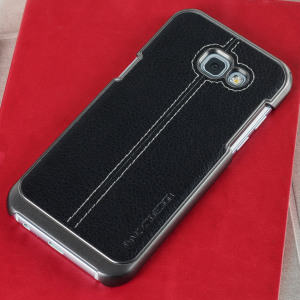 Protect your Galaxy A5 2017 with this precisely designed case in black from VRS Design. Combining leather-style material with polycarbonate, this slim case is certain to add to the style of your Galaxy A5 2017.