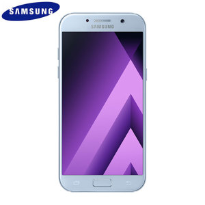 Unlocked 32GB Samsung Galaxy A5 2017 in blue. With a 5.2 inch display featuring a 1080 x 1920 resolution, 16MP camera and running Android - this Samsung smartphone is ready for anything you can throw at it!