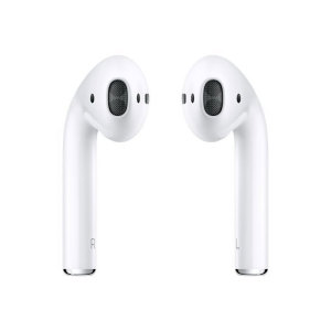 Welcome to the cutting edge of true wireless earphones. Apple's AirPods offer convenience, style and superior sound quality in a smart, connected package. Designed for use with iPhone, iPad, Apple Watch and Mac, these earphones are the perfect companion.