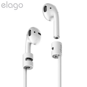 Elago iPhone 7 / 7 Plus AirPods Strap - White