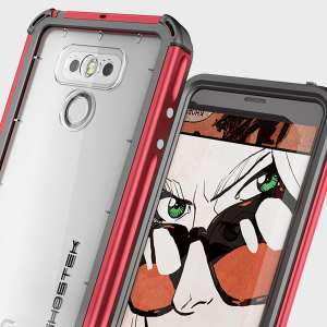 Equip your LG G6 with the most extreme and durable protection around! The red Ghostek Atomic 3.0 is completely waterproof and provides rugged drop protection with it's HD scratch resistant screen protector, whilst keeping the phone slim.