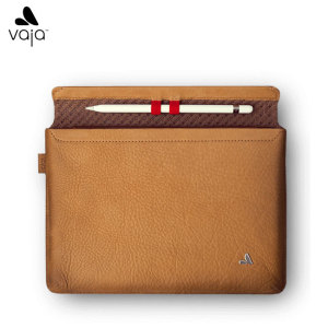 Treat your iPad Pro 9.7 inch to exquisite handmade craftsmanship and the highest quality materials. Featuring genuine Floater leather in tan, the Vaja premium leather sleeve case is the pinnacle of luxury and protection.