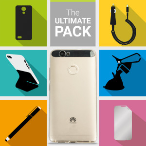 Este pack de accesorios está compuesto por todo lo que necesitas para el Huawei Nova
