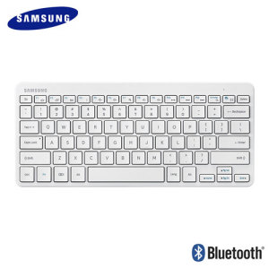Clavier Bluetooth Universel QWERTY Officiel Samsung – Blanc
