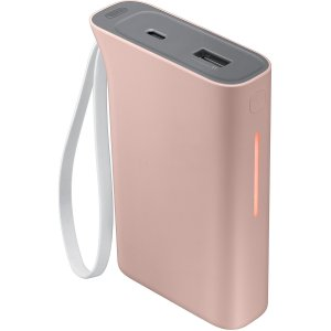 This official 5,100mAh power bank from Samsung in baby pink is the perfect way to keep your smartphone or tablet charged while out and about. Extremely lightweight and completely universal, this really is the ideal travel companion.