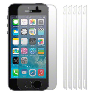Protections d'écran iPhone 5 / 5S / SE Olixar - Pack de 6