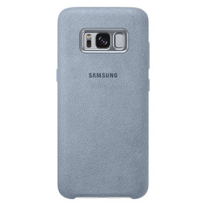 Protect your Samsung Galaxy S8 with this Official Alcantara case in mint. Stylish and protective, this case is the perfect accessory for your S8.