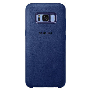Protect your Samsung Galaxy S8 Plus with this Official Alcantara case in blue. Stylish and protective, this case is the perfect accessory for your S8 Plus.