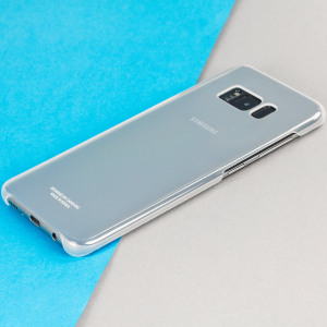 This Official Samsung Clear Cover in silver is the perfect accessory for your Galaxy S8 Plus smartphone.
