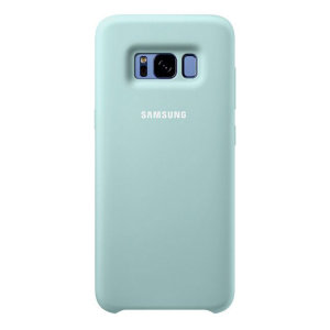 Official Samsung Galaxy S8 Plus Silicone Cover Case - Blue