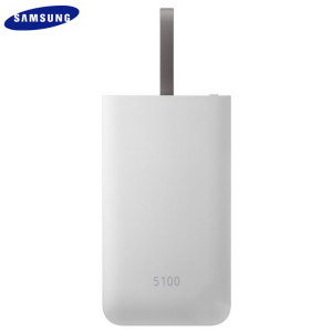 This official 5,100mAh battery pack from Samsung in grey is the perfect way to keep your devices charged while out and about. Extremely lightweight and completely universal, this really is the ideal travel companion for you and your gadgets.
