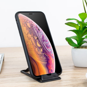 Boasting a lightweight, portable build and a compact size, this ultra-slim credit card-sized desk stand is small enough to fit into a pocket, wallet or purse. Featuring multiple angles to hold all smartphones big and small.