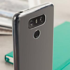 Skräddarsydd till din LG G6. Det här FlexiShieldskalet kommer från Olixar och erbjuder en smal passform och ett hållbart skydd mot skador.