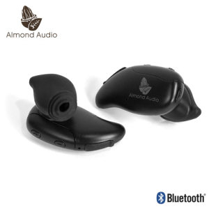 Almond Audio Totally Wireless Bluetooth Earbuds - Black