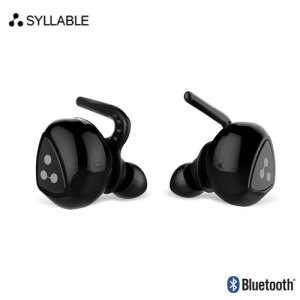 Offering high-quality true wireless audio in a lightweight, portable package, the D900 Mini Wireless Earphones from Syllable are the premier choice for the active professional on the go.