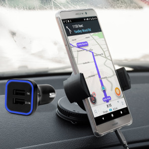 Hold your phone safely in your car with this fully adjustable DriveTime car holder for your Huawei Mate 9.