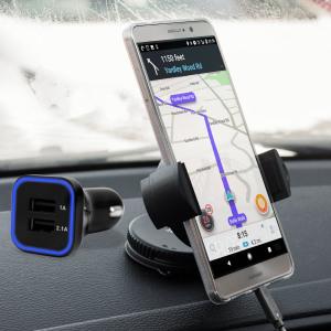 Grâce à ce pack support voiture DriveTime avec chargeur, vous disposerez des éléments essentiels pour effectuer de longs trajets en toute sérénité. Doté d'un support robuste, votre Huawei Mate 9 sera parfaitement maintenu en sécurité et pourra être chargé en permanence grâce au chargeur allume-cigare inclus, celui-ci dispose également d'un port USB supplémentaire.