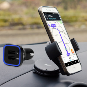 Hold your phone safely in your car with this fully adjustable DriveTime car holder for your HTC Bolt / 10 evo.