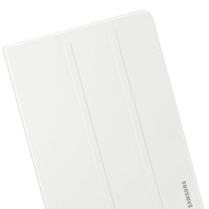 Keep your Samsung Galaxy Tab S3 protected from damage with this official white Samsung book cover with integrated multi-level stand.