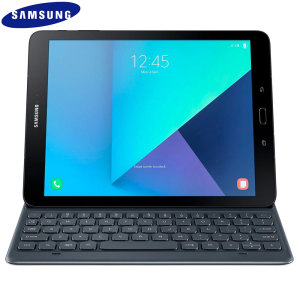 This durable and long-lasting keyboard cover by Samsung lets you type faster, while at the same time it perfectly protects your Galaxy Tab S3 without adding unnecessary bulk.