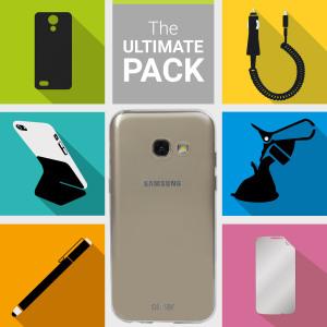 Le Pack d'accessoires Ultime pour Samsung Galaxy A3 2017 contient tout un lot d'accessoires indispensables spécialement conçus pour Samsung Galaxy A3 2017.