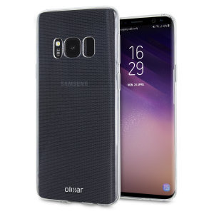 Clear Samsung S8 Case, this 100% clear Ultra-Thin case by Olixar provides slim fitting and durable protection against damage while adding next to nothing in size and weight.