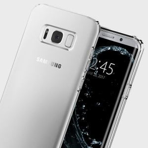 Durable and lightweight, the Spigen Liquid Crystal series for the Samsung Galaxy S8 offers premium protection in a slim, stylish package. Carefully designed the Liquid Crystal case is form-fitted for a perfect fit.