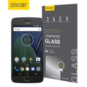 Deze ultradun geharde glazen schermbeschermer voor de Motorola Moto G5 Plus biedt taaiheid, hoge zichtbaarheid en gevoeligheid in één pakket.