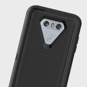 Protect your LG G6 with the toughest and most protective case on the market - the OtterBox Defender Series in black.